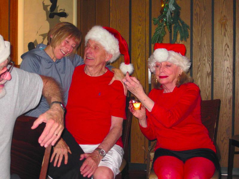 Christine Frank, Dean Carson and Anne Brodley