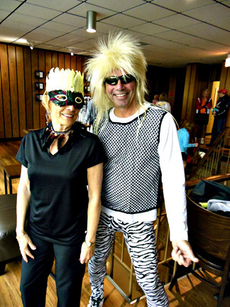 Sandy Schlueter and Jim Dee